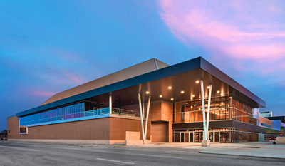Evan Lloyd Architects provided extensive architecture services for the Bank of Springfield Convention Center in Springfield, Illinois, with a complete building renovation. We provided design solutions, color renderings, construction documents, and construction cost estimates.